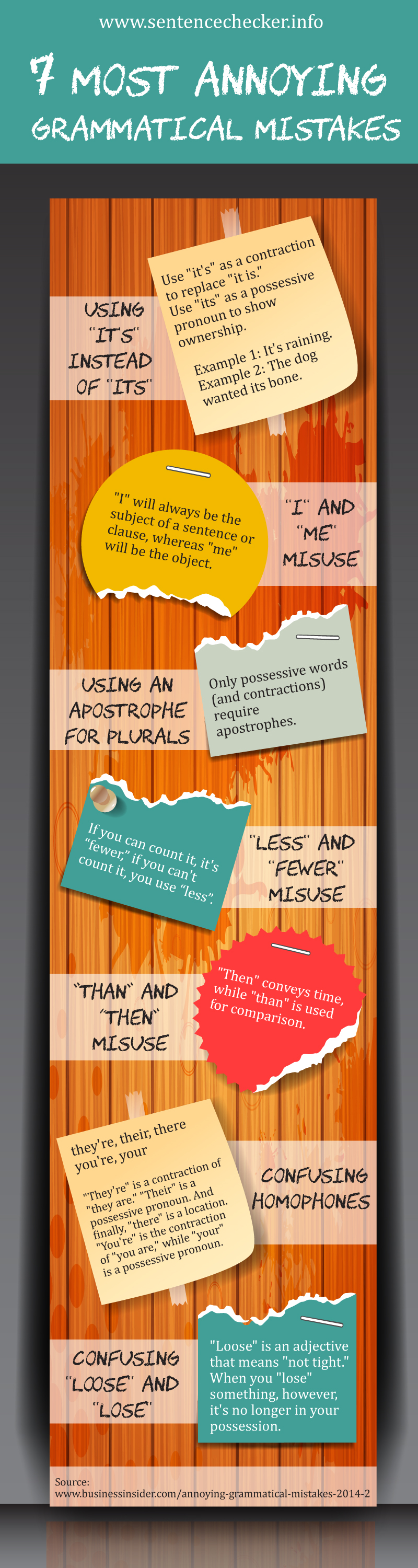 7 Most Annoying Grammatical Mistakes